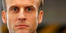 Macron exclut un retour de l'isf avant l'evaluation de l'ifi