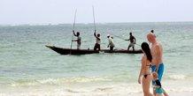 Tourisme plage mer pêche océan touristes