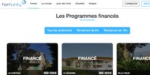 Homunity immobilier crowdfunding