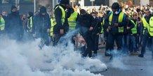 gilets jaunes: un manifestant blesse a paris, l'igpn saisie