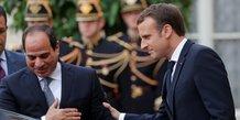 Macron appelle sissi a agir sur les droits de l'homme