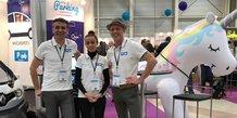 L'équipe de la startup MyCarSpot, à Montpellier