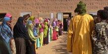 Mali Kidal populations école