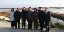 La délégation chinoise de Yancheng accueillie à Sète par l'entreprise héraultaise Biotope