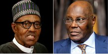 collage Buhari Atiku Nigeria