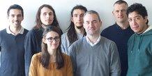 L'équipe d'Emvista, qui compte notamment 3 docteurs spécialisés dans le traitement du langage naturel