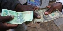 monnaie zimbabwe dollar