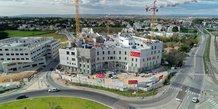 La nouvelle clinique Saint-Jean 2 du groupe Cap Santé (85 M€), en construction à l'ouest de Montpellier