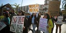 Les dreamers decus par l'absence de loi sur l'immigration
