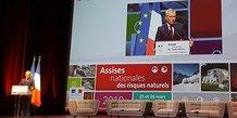 François de Rugy, ministre de la Transition écologique et solidaire, à Montpellier le 25 mars 2019