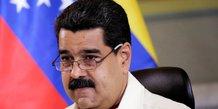 Maduro dit autoriser la croix-rouge a fournir de l'aide