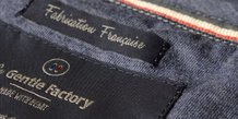 Gentle Factory, textile, Happychic, fabrication française, écoresponsable,