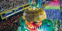 télévision 8K, carnaval de Rio, TV Globo, Brésil
