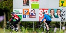 Elections européennes, vote, affiches,