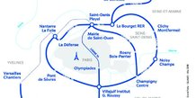 Grand Paris Express plan SGP