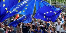 Europe, drapeau européen