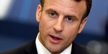 Macron veut un president fort et charismatique a la commission