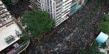 Nouvelle manifestation a hong kong, appel a la demission de lam