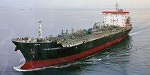 Petroliers: le kokuta courageous au mouillage au large des emirats