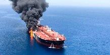 Iran, pétrolier, golfe d'Oman