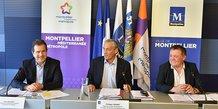 Le maire de la Ville de Montpellier, Philippe Saurel, boucle le dossier de demande d'aide aux commerces de centre ville