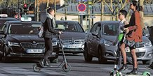 Trottinettes, Paris, transport, mobilités,