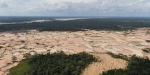 Bresil: la deforestation de l'amazonie a augmente de 88% en un an