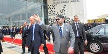 roi maroc mohammed VI gare ferroviaire agdal