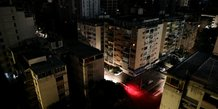 Le venezuela prive en grande partie d'electricite