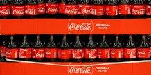 Coca-cola releve ses previsions apres un deuxieme trimestre conforme aux attentes