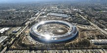 Apple, Silicon Valley, campus, Cupertino, tech, informatique,