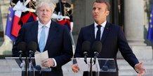 Un nouvel accord sur le brexit impossible a trouver en un mois, dit macron