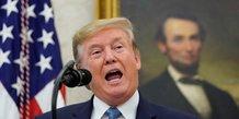 Trump appelle les entreprises americaines a quitter la chine