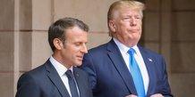 G7: trump et macron montrent leurs muscles avant leurs retrouvailles a biarritz