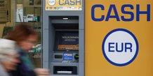 Autriche ATM billets cash DAB