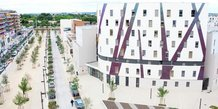 La résidence étudiante Côté Rambla, dans le quartier des Grisettes à Montpellier, gérée par Global Exploitation