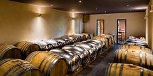 Les cuves inox du vigneron-négociant Samuel Delafont dans le Gard