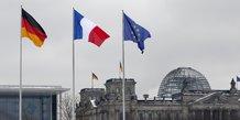 France, Allemagne, Union européenne, Europe, drapeaux, flags,
