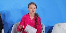Climat: greta thunberg apostrophe les dirigeants mondiaux a l'onu