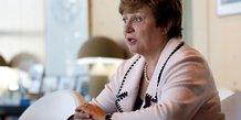 Georgieva officiellement designee a la tete du fmi