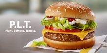 Burger végétarien McDonald's