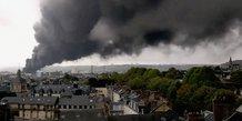 Rouen, incendie, Lubrizol