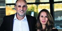 Arnaud Mine et Stéphanie Andrieu