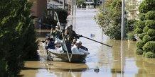 Le japon deploie l'armee apres un puissant typhon, 23 morts