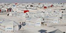 Des proches de membres de l'ei echappes d'un camp-observatoire syrien