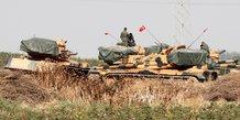 La turquie poursuit son offensive, l'armee syrienne en profite