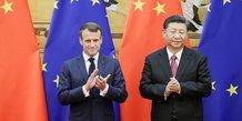 Principaux accords signes en chine lors de la visite de macron