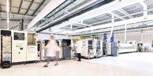 Symbiose. 25 millions d'euros vont être investis dans le nouveau site de Lacroix Electronics, dans les Mauges. Une usine qui marque le renouveau de l'industrie électronique angevine.