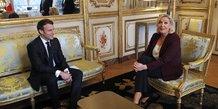 Emmanuel Macron, Marine Le Pen