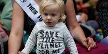 Changement climatique et enfants